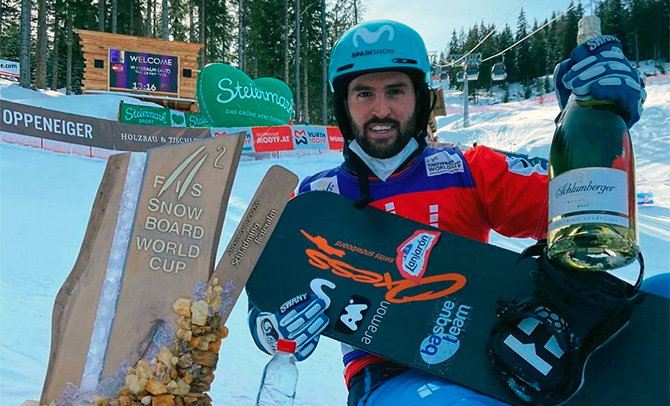 Lucas Eguibar logra la medalla de plata en la Copa del Mundo en Austria