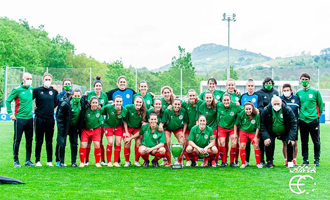 La Euskal Selekzioa femenina gana un torneo internacional