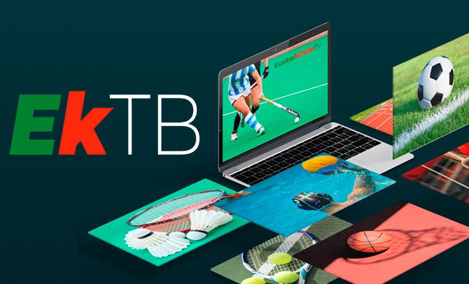 Primera retransmisión de Euskal Kirola TB