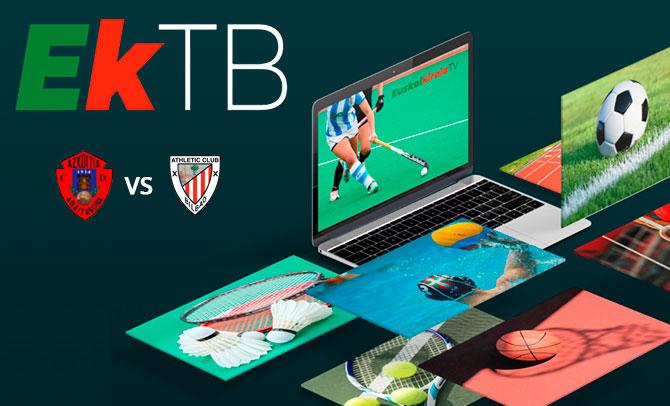 Nace EKTB, la televisión dedicada al deporte vasco