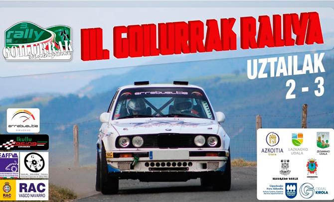 Goilurrak rallyaren emanaldia Euskal Kirola TBn