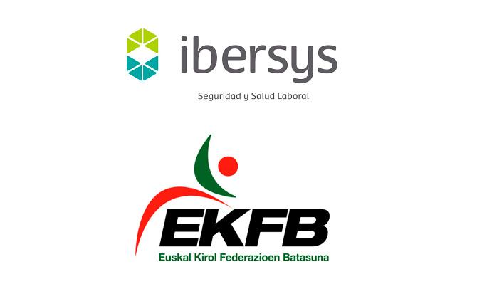 Acuerdo de colaboración: Unión de Federaciones Deportivas Vascas- Ibersys Seguridad y Salud