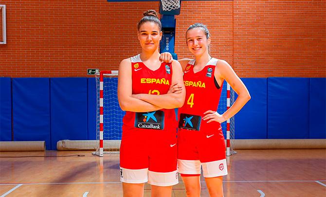 Dos jugadoras vascas, con la selección en Hungría