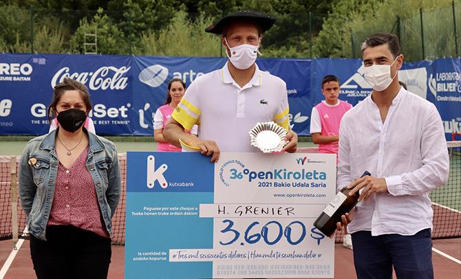 """""""Open Kiroletaren emaitzak merezi izan du"""", Euskal Federazioko lehendakariaren arabera"""