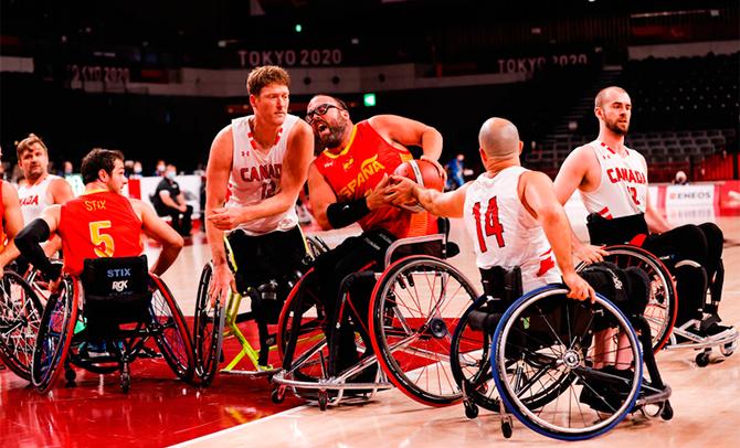 Asier García destaca en los Juegos Paralímpicos
