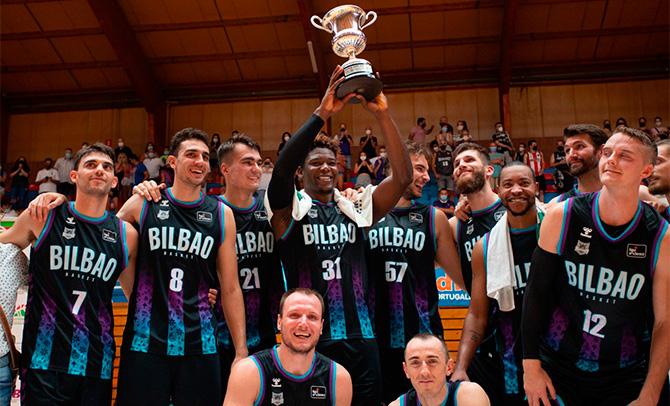 El Bilbao Basket gana la Euskal Kopa