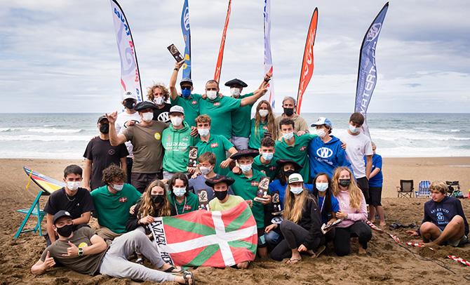 Euskadi da nagusi Sopelako kayak surfeko Europako Txapelketan