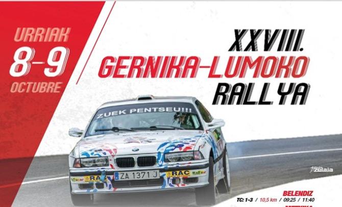 Iritsi da Gernika-Lumoko XXVIII. rallya