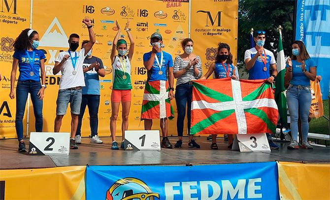 Asier Larruzea se proclama campeón de la Copa de España de Carreras por Montaña